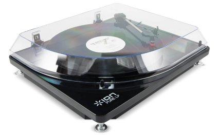 Проигрыватель винила ION Audio Pure LP red