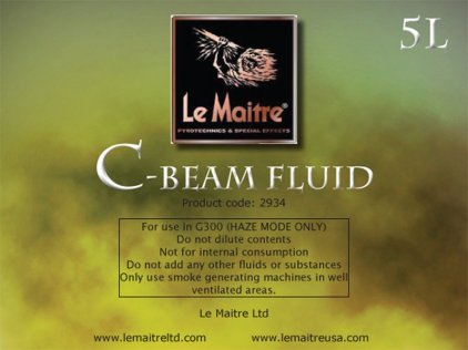 Аксессуар LE MAITRE C BEAM REGULAR  FLUID 5 LTR