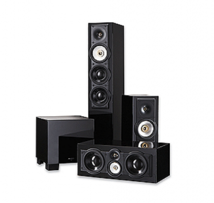 Paradigm SE 1 + SE 3 + SE Center + SE Sub gloss black
