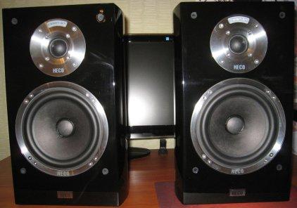 Полочная акустика Heco Celan GT 302 piano black