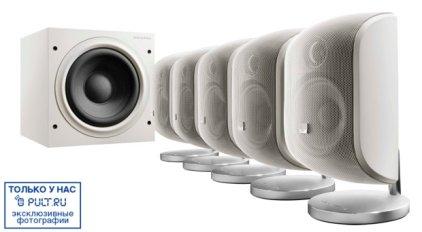 Комплект акустики B&W MT-50 white