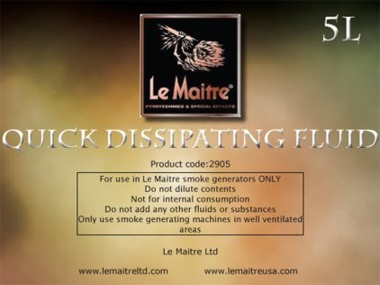 Аксессуар LE MAITRE QUICK DISSIPATING FLUID 5L