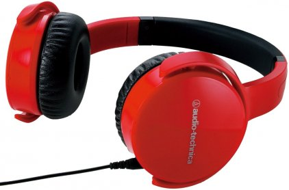 Наушники Audio Technica ATH-OX5 red