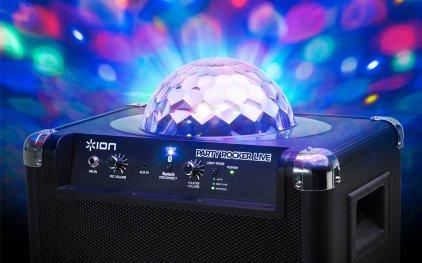 Портативная акустика ION Audio PARTY ROCKER LIVE