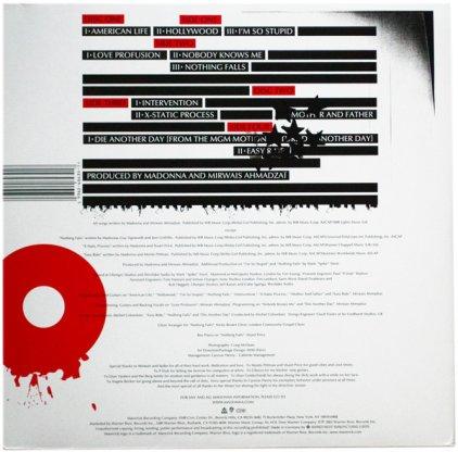 Виниловая пластинка Madonna AMERICAN LIFE (180 Gram)