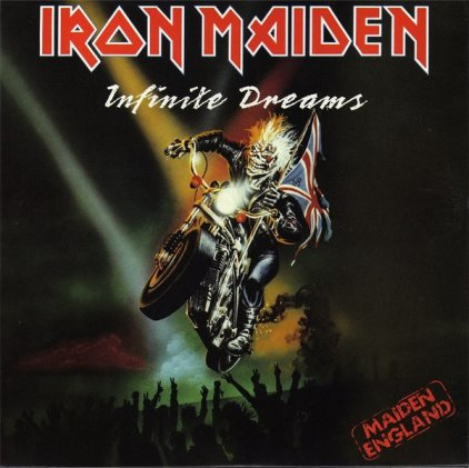 Виниловая пластинка Iron Maiden INFINTE DREAMS (LIVE) (Limited)