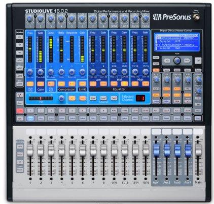 Микшер PreSonus StudioLive 16.0.2
