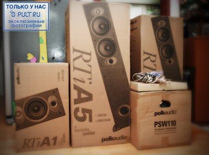 Акустическая система Polk audio RTi A5 blk