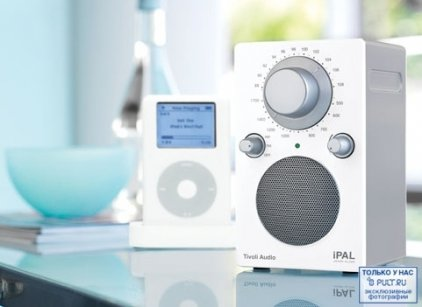 Радиоприемник Tivoli Audio Portable Audio Laboratory white/silver
