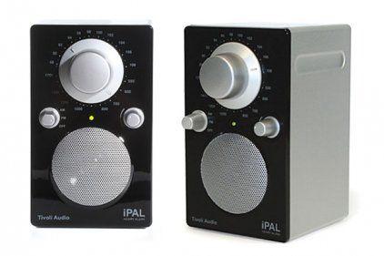 Радиоприемник Tivoli Audio iPAL High Gloss Black/Silver