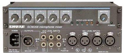 Микшер Shure SCM268E