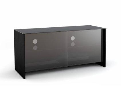 Подставка MD 522.1110 (черный/дымчатое стекло)