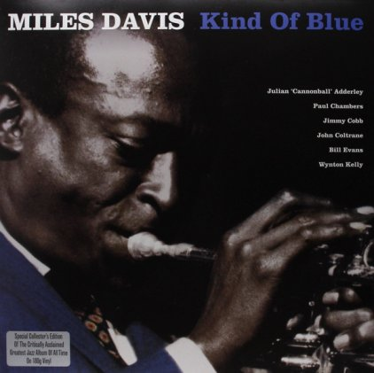 Виниловая пластинка Miles Davis KIND OF BLUE (180 Gram/Remastered/W290)
