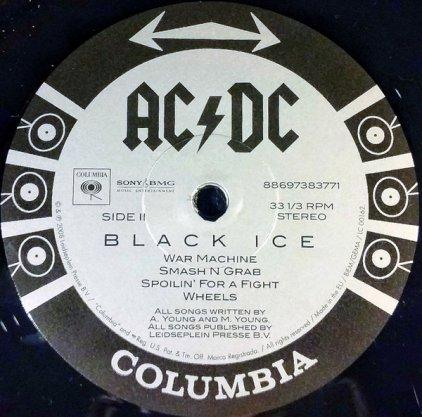 Виниловая пластинка AC/DC BLACK ICE (Gatefold/180 Gram)
