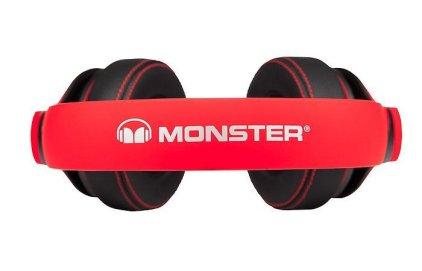 Наушники Monster Octagon Over-Ear Headphones red (130554-00)