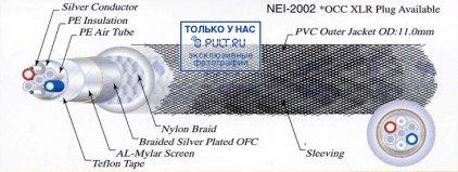 Кабель межблочный аудио Neotech NEI-2002 1.0m
