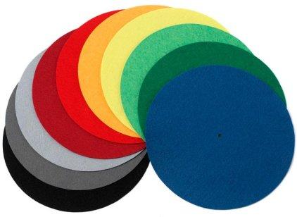Мат для диска проигрывателя Pro-Ject FELT MAT 300mm blue