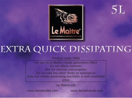 Аксессуар LE MAITRE EXTRA QUICK DISSIPATING ( EQD)FLUID 5L