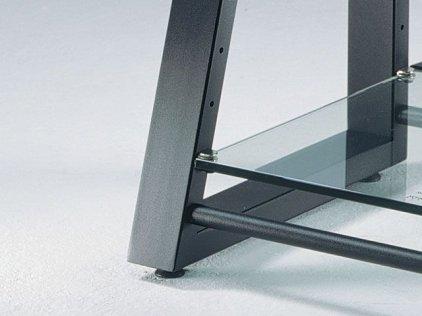 Подставка под Hi-Fi Schroers DELTAstatic black/concrete aesthetics