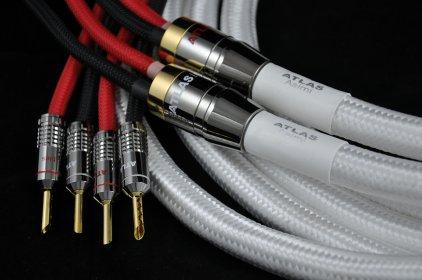 Акустический кабель Atlas Asimi Silver 2 x 2 1.0m (banana)