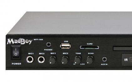 Караоке-система MadBoy MFP-1500 + DVD-диск 500 любимых песен