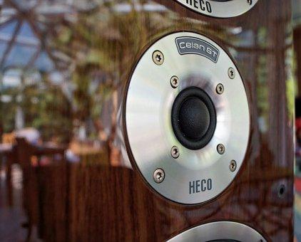 Напольная акустика Heco Celan GT 602 piano espresso