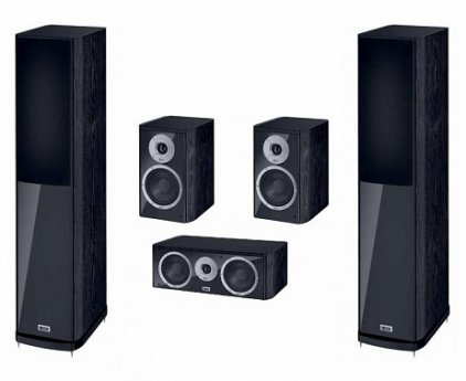 Полочная акустика Heco Music Style 200 black/black