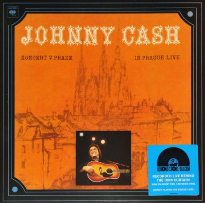 Виниловая пластинка Johnny Cash KONCERT V PRAZE (IN PRAGUE LIVE) (180 Gram Red vinyl)