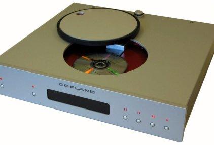 CD-проигрыватель Copland CDA 825 silver