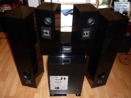 Сабвуфер Quadral Sub 700 DV black high gloss