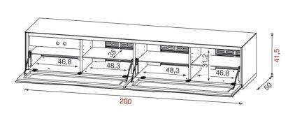 Подставка Munari MO 2200 BI (Белый)