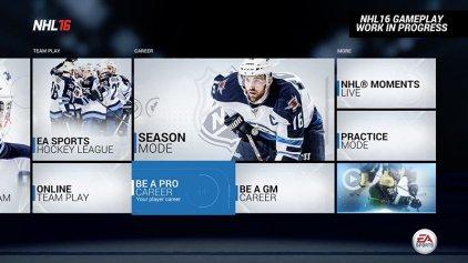 Игра для PS4 NHL 16 (русские субтитры)