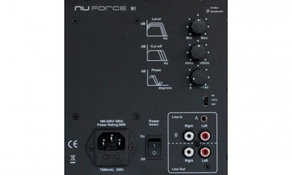 Сабвуфер NuForce W-1 red