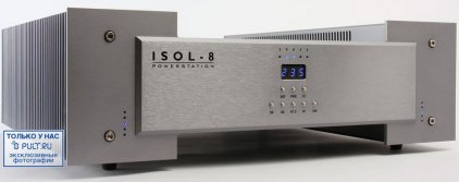 Сетевой фильтр Isol-8 Power Station Twin channel