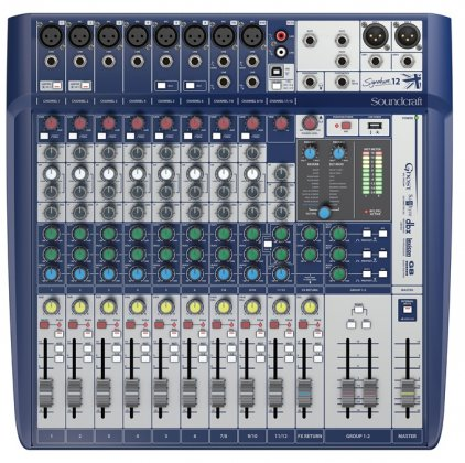Микшер Soundcraft Signature 12