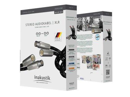 Кабель межблочный аудио In-Akustik Exzellenz Stereo Cable XLR 1.5m #006050015
