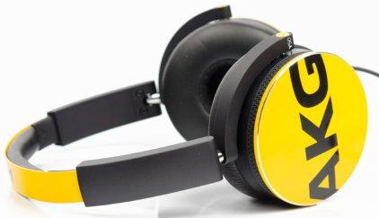Наушники AKG Y50 yellow