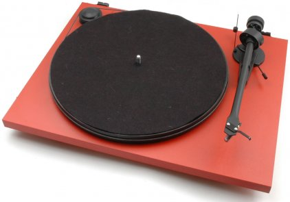 Проигрыватель винила Pro-Ject Essential II Phono USB (DC) (OM 5e) matt red