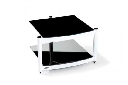 Atacama EQUINOX RS-2 Shelf Base Module Hi-Fi White/Piano Black