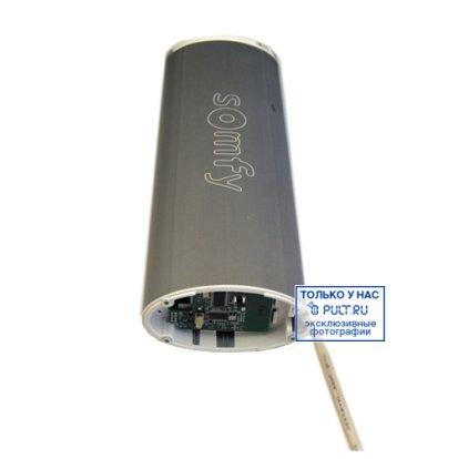 Умные шторы Somfy Карниз с электроприводом Glydea 35 DCT/ WT длина 4.8 м