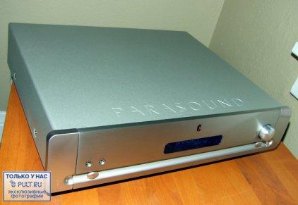Предусилитель Parasound P7 silver