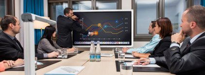 "Интерактивная LED панель Triumph Board 65"" MultiTouch"