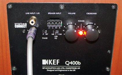 Сабвуфер KEF Q400B Black oak EU vinyl