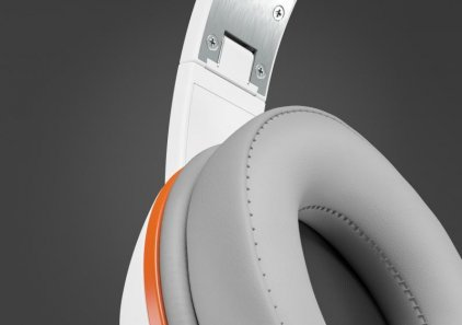 Наушники Magnat LZR 580 White vs. Orange