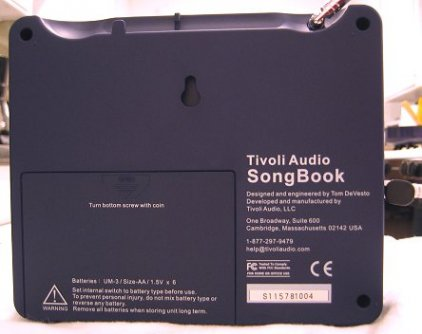 Радиоприемник Tivoli Audio Songbook black/silver (SBBS)