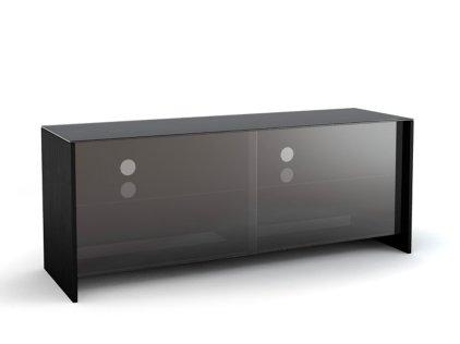 Подставка MD 522.1310 (черный/дымчатое стекло)