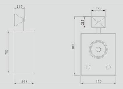 Акустическая система CINEMATIC C-112SC