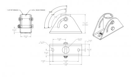 Крепление для проектора Chief CMA-395 Angled Ceiling Adapter