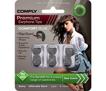 Амбушюры Comply Tsx-200 Black Medium (3 пары)