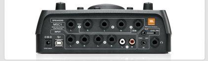 Контроллер универсальный для студийных мониторов с функцией коррекции сигнала JBL MSC1